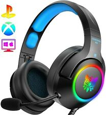 ONIKUMA PS4 Headset -Gaming Headset Xbox with Surround Sound - Brand New