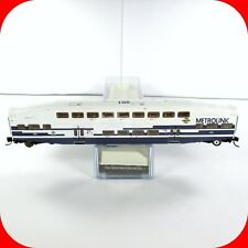 N Scale BOMBARDIER METROLINK Passenger Coach Car #201 - ATHEARN 10140 ***RARE***