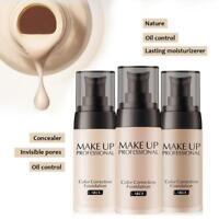 Farbe wechselnden Foundation Make-up nackt Basisfläche flüssige Cover Conceale