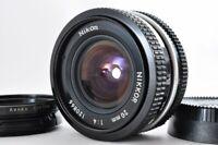 Near mint Nikon AI 20mm f4 Ai Wide Angle MF Lens w/ Caps From Japan F/S #1208