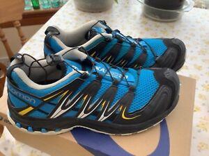 Salomon Unisex XA Pro 3D Mountain Trail Hiking Shoes Blue / Black Size 7uk