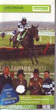 Cheltenham racecard 10 DICEMBRE 2011 in buonissima condizione