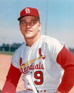 St. Louis Cardinals ROGER MARIS Glossy 8x10 Photo Baseball Poster Print