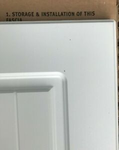 B&Q Matt White Shaker Country Style kitchen unit cabinet cupboard doors + drawer