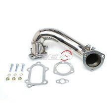 "NEW REV9 91-94 TOYOTA MR2 MR-2 3SGTE 3"" TURBO EXHAUST DOWNPIPE STAINLESS V-BAND"