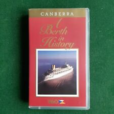 P&O SS CANBERRA - A BERTH in HISTORY VHS Nearly New Condition