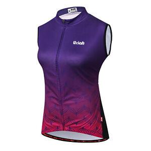 URIAH Women Cycling Vest MTB Bike Bicycle Clothing Size XL Chest 43.3''