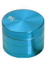 BLACK LEAF grinder in alluminio 4 pezzi 50mm SETACCIO ALLUMINIO mulino mulino spezie blu chiaro