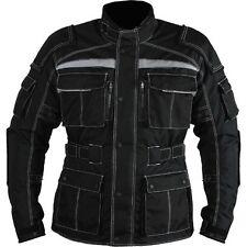 Men's Cordura Line Armour Waterproof Motorbike Motorcycle Jacket Collection