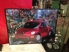 Contemporary Ron Kimball Photography Volkswagen Beetle Photo Poster w/ Bugs