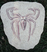 Spider Mold Stepping Stone Garden Plaque Plastic Mould