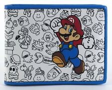 Official Nintendo ~SUPER MARIO BROS ENEMIES WALLET~ Mens Boys Bifold FUNNY COOL