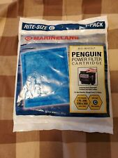 Marineland Penguin Power Filter Cartridges, Rite-Size C, 1-Count New in Package!