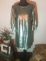 Green Sequin Dress 10