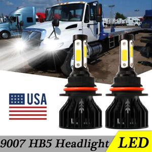 9007 LED Headlight Headlamp Bulb for International 4100 4200 4300 4400 2003-2016