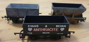 Hornby/Bachmann/Lima Coal Wagons X 3