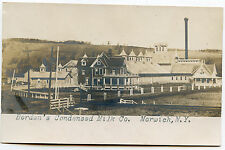 RPPC NY Norwich Bordens Creamary Condensary Milk Co. Chenango County