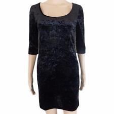 Unbranded Round Neck Velvet Dresses for Women