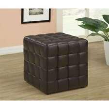 bedroom leather ottomans footstools u0026 poufs