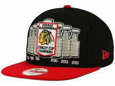 Chicago Blackhawks New Era 9FIFTY Chicago Pack Series Snapback NHL Official Hat