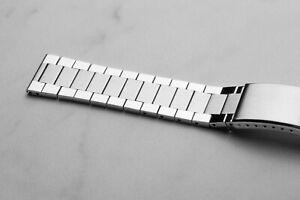 Flat Omega Speedmaster Vintage Style Bracelet 19mm 20mm 22mm