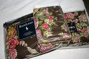 Ralph Lauren GARDEN GATE Full DUVET Comforter COVER, Bedskirt & EURO Shams 6 PC
