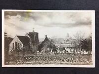 RP Vintage Postcard - Kent #29  - Canterbury, St Martins Church