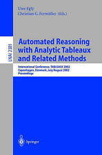 Automated Reasoning with Analytic Tableaux and Related Methods: International Co