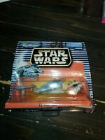 STAR WARS Micro Machines IX Mini Ship Set - Galoob '97 - 65860 - DAMAGED BOX