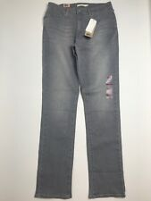 Levis Mid Rise Skinny Gray Jeans Size 12