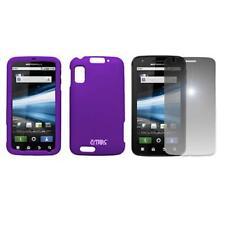 for Motorola Atrix 4g Purple Case Cover+Mirror SP