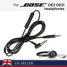 Replacement 2.5 to 3.5 mm Cable for BOSE On-Ear 2 OE2 OE2i Headphones  with MIC