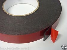 1 Inch 60 Feet Industrial Double Sided Foam Adhesive Tape Car Truck Molding