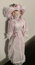 "Gibson Girl 14"" Porcelain Doll in box"