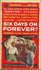 SIX DAYS OR FOREVER Ray Ginger - EVOLUTION VS BIBLE - SCOPES MONKEY TRIAL 1925