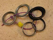 1972 suzuki ts125 enduro s440~ rubber chrome fork rings