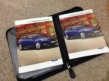 FORD FOCUS  OWNERS MANUAL -OWNERS HANDBOOK 2013-2016 and wallet, bag2