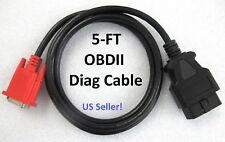 OBD2 OBDII Main Cable for Launch X431 Creader Professional CRP229 229 Scan Tool
