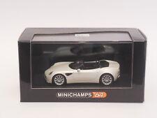 Minichamps 1/64  Alfa Romeo 8C Spider   Metallic White