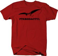 Pterodactyl Flying Bird Dinosaur Color T-Shirt
