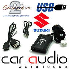 Connects2 CTASZUSB001 Suzuki Swift 05> USB SD AUX Car Interface Adaptor