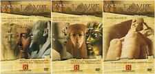 ANCIENT EGYPTIAN PHARAOHS HISTORY CHANNEL DOCUMENTARIES COLLECTION NEW 3 DVD R4