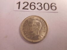1942 Great Britain Three Pence Very Nice High Grade Collectible Coin - # 126306