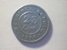 25 cent Belgique 1916