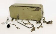 New listing Nos Vintage Pfaff Sewing Machine 90-360 Attachments Accessories Presser Feet Set