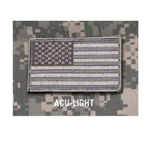 "Morale Patch Milspec Monkey Msm - American Usa Us Flag - 3.25"" x 2"" - Acu Light"