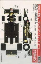 1:20 Decal Studio27 Lotus 78 GP Italien 1978 #6 R.Peterson