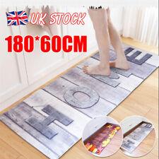 Non-Slip Kitchen Floor Mat Washable Machine Rug Door Large Runner Carpe Hallway