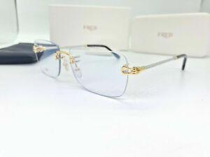 Occhiali Fred FG40005U Rimless Sunglasses Brille Lunette Sonnenbrille
