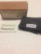 New listing AcousticSheep SleepPhones Headphones-grey fleece size m